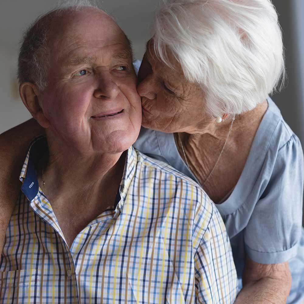 Senior Man and Woman